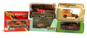 Lot Of 5 Vintage Model Cars Triumph Kafer Matchbox