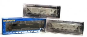 Lot Of 3 Model Trains Broadway Limited & Bachmann