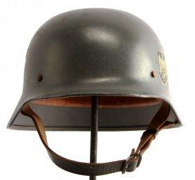 Wwii German M-40 Helmet Single Decal Heer