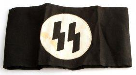 Wwii Third Reich German Ss Armband