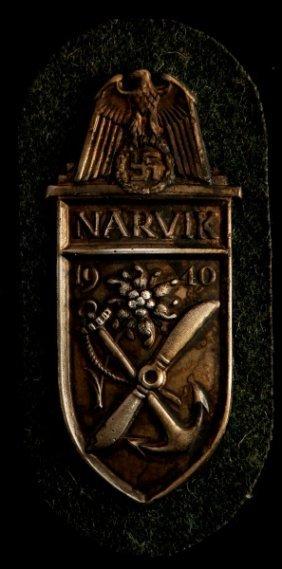 German Wwii Third Reich Narvik Shield