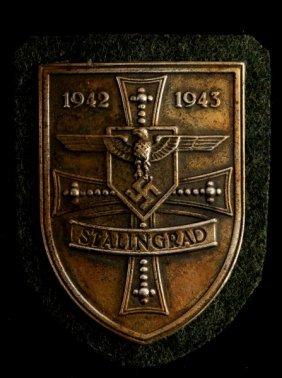 German Wwii Third Reich Stalingrad Shield