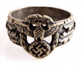 German Wwii Third Reich Police Ring