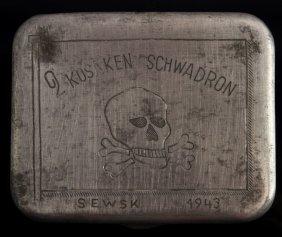Russian Cossacks Cigarette Case Third Reich