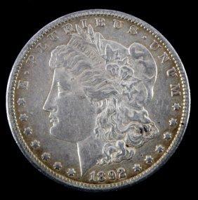 1892 Cc Carson City Key Date Morgan Silver Dollar
