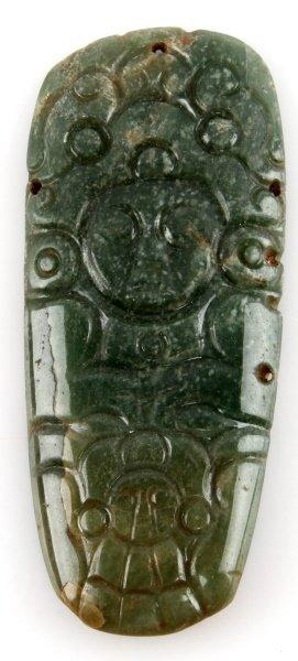 Mayan Pre Colombian Jade Mayan Lord Adornment