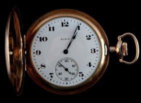 Antique Elgin Mens 17 Jewel Pocketwatch