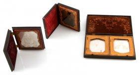 2 Daguerreotype & 1 Ambrotype In Nice Union Cases