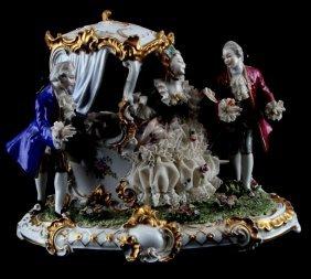 Unterweissbach Secret Love Group Figurine