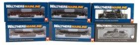 Walthers Ho 6 Pc Mainline Proto Train Car Lot