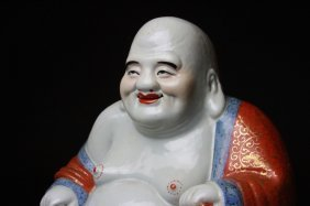 Antique Chinese Laughing Buddha
