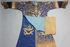 A Chinese Qing Court Dragon Robe