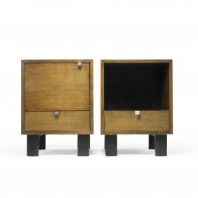 George Nelson & Associates Pair Of Nightstands