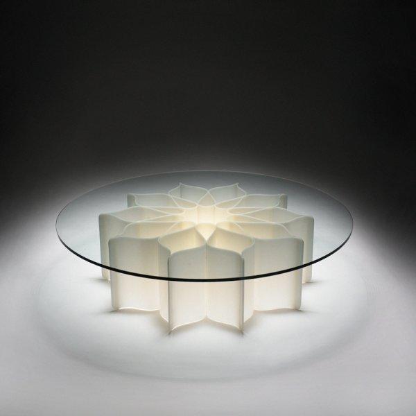 146 pierre paulin elysee light table lot 146. Black Bedroom Furniture Sets. Home Design Ideas