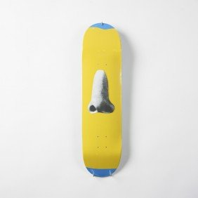 John Baldessari Blue Skateboard Deck