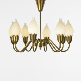 Ansgar Fog And E. M�rup Tulip Chandelier