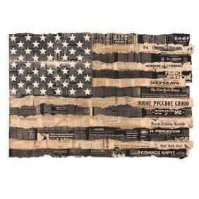 Massimo Vignelli Bicentennial Poster U.S.A.