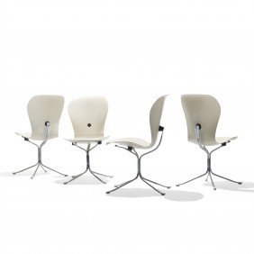 Gideon Kramer Ion Chairs, Set Of Six