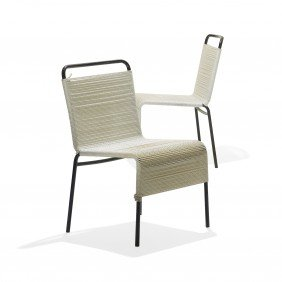 Van Keppel And Green Dining Chairs, Set Of Four