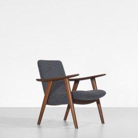 Hans Wegner Buck Lounge Chair