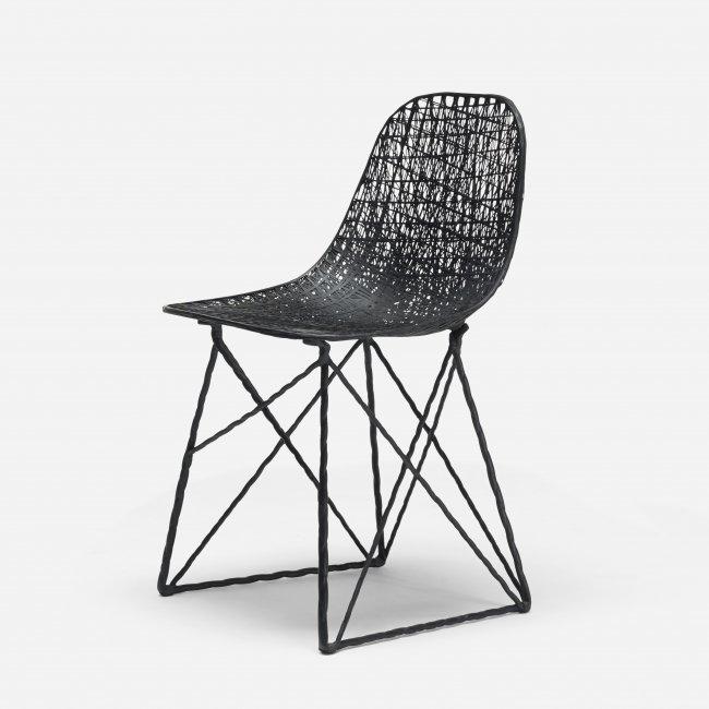 bertjan pot and marcel wanders carbon fiber chair lot 607. Black Bedroom Furniture Sets. Home Design Ideas