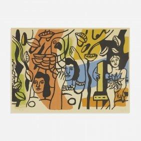Fernand Leger Les Femmes Au Perroquet