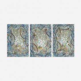 Ryan Mcginness Untitled (triptych)