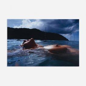 Nan Goldin Valerie Floating In Sea, Mayreux Island