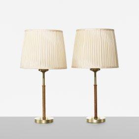Bertil Brisborg, Table Lamps, Pair
