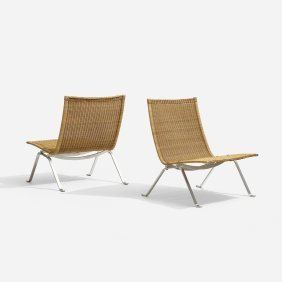 Poul Kjaerholm, Pk-22 Chairs, Pair