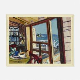 Maurice Freedman, Untitled (interior View)
