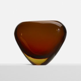 Flavio Poli, Sommerso Vase, Model 12890