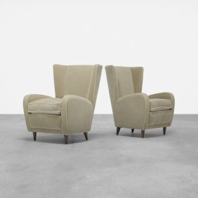 Paolo Buffa, Pair Of Lounge Chairs