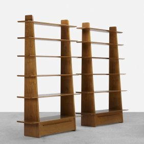 Edward Wormley, Bookcases Model 5264, Pair