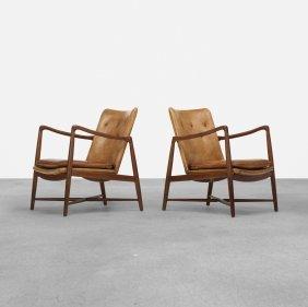 Finn Juhl, Armchairs, Pair