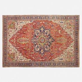 Persian, Serapi Carpet