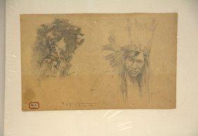 Lauros Monroe, Phoenix (american B. 1885) Drawing