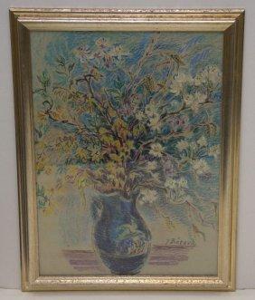 J. Berra - Pastel Still Life