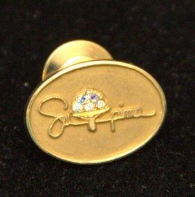 Vintage 18kt Yg Tiffany Pin