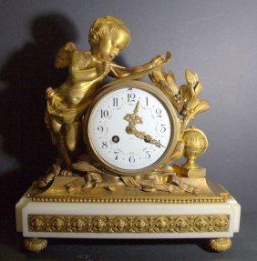 Antique Tiffany & Company French Broze Vincenti Cherub