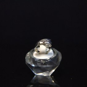 Vintage Tiffany & Co Sterling Tulip Ring