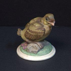 Boehm Baby Goldfinch Porcelain Figure