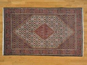 Handmade Persian Bidjar 100 Percent Wool Rug