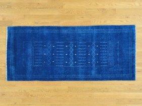 Pure Wool Lori Buft Gabbeh Runner Handmade Rug
