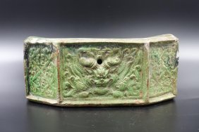 Chinese Song Dynasty Jizhou Ware Pillow Case