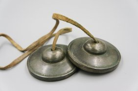 Pair Of 17th Century Bronze Finger Bell