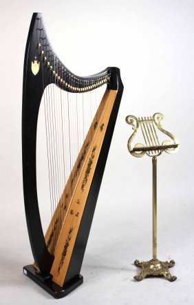 Lyon And Healy Troubadour Harp