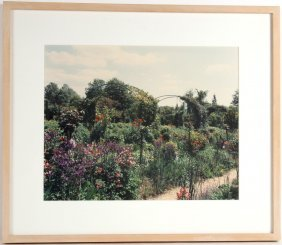 Cibachrome Print, Giverny, France, Stephen Shore