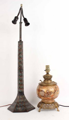 Cloisonne Candlestick