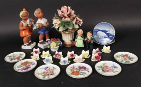 Group Of English, German & Denmark Porcelain